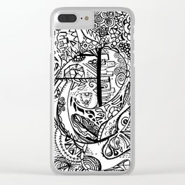 What's going on? Clear iPhone Case