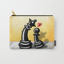 Bold Romantic Proposal for a Queen Carry-All Pouch