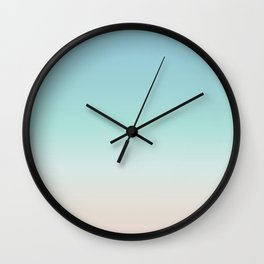 Beach Gradient Wall Clock