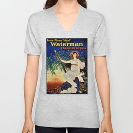 Waterman fountain pens 1919 Unisex V-Neck