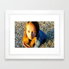 """Sunlight Hurts My Eyes"" Framed Art Print"
