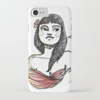 lolita iPhone & iPod Cases featuring Lolita by Catsareblue