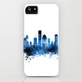 Houston Texas Skyline iPhone Case