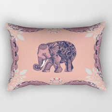 Bohemian Elephant  Rectangular Pillow