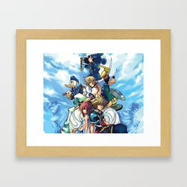 Kingdom Hearts 2 Framed Art Print