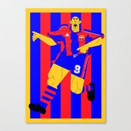 R9 BlauGrana Canvas Print