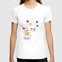 pocket fuel T-shirts featuring Fuel of  the day by inkdesigner