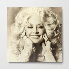 Dolly Parton Vintage 01 Metal Print