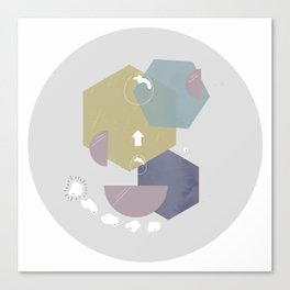 shape up Canvas Print