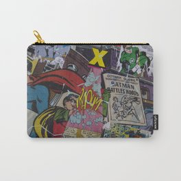 Comics Trip, Full Canvas Carry-All Pouch