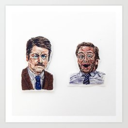 Ron + Andy Art Print
