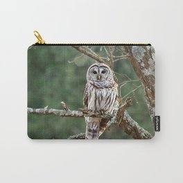 Barred Hoot Owl Carry-All Pouch