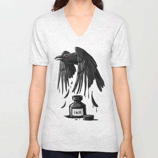 Ink Raven Unisex V-Neck