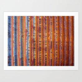 Rust Never Sleeps Art Print