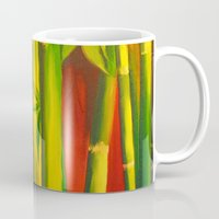 bamboo Mugs featuring Bamboo by OLHADARCHUK