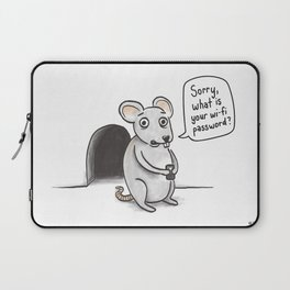 Freeloading Mouse  Laptop Sleeve