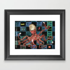 Octopus II Framed Art Print
