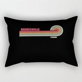 Gainesville Florida City State Rectangular Pillow