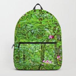 Rhodies in Green Backpack