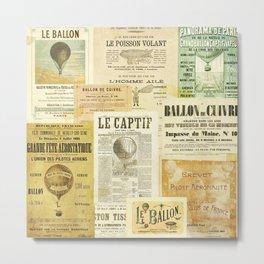 Le Ballon Metal Print