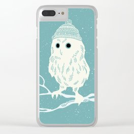 Have A Hoot This Christmas Clear iPhone Case