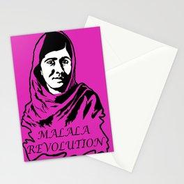 Malala Revolution Stationery Cards