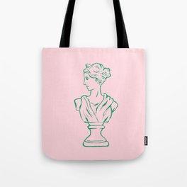 Elegant Greek Statue Tote Bag