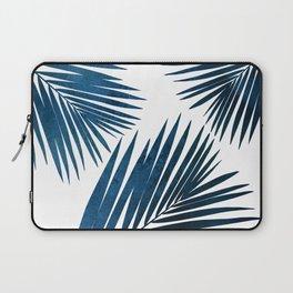 Indigo Palm Fronds Laptop Sleeve