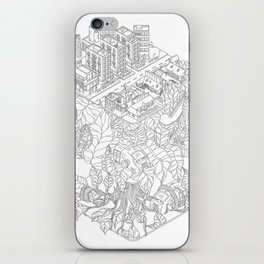 City and the junge iPhone Skin