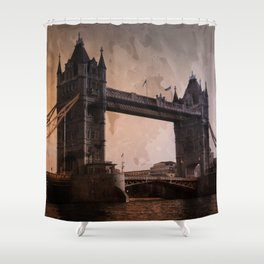 London InFocus Collection I Shower Curtain