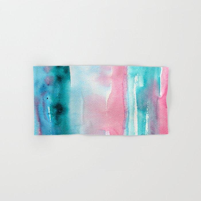 Turquoise love Hand & Bath Towel