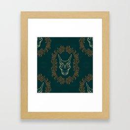 Charizard Skull Framed Art Print