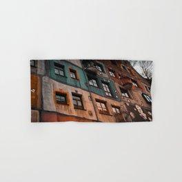 Hundertwasser museum Hand & Bath Towel
