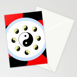 Yin and Yang 16- Tao,Zen,Taoism,Dao,Harmony,religion,buddhism,buddhist,taijitu,taiji,taoist,china Stationery Cards