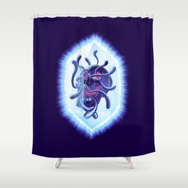 Curse Of The Crystalline Soul Shower Curtain