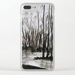 Brent skog - Gerlinde Streit Clear iPhone Case