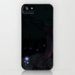 Violet Forest iPhone Case