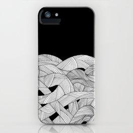 The tangled sea iPhone Case