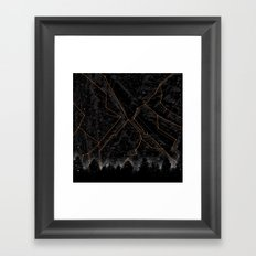Slopes Framed Art Print