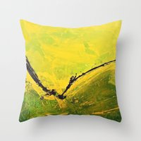 flight Throw Pillows featuring Flight by RvHART