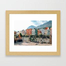 Cry me a River | Innsbruck, Austria Framed Art Print