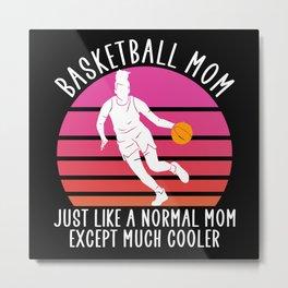 basketball mom Metal Print