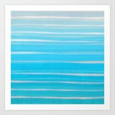 Seashore Colors Art Print