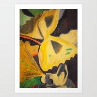 pasta Art Prints featuring Pasta by Stefanie Sharp