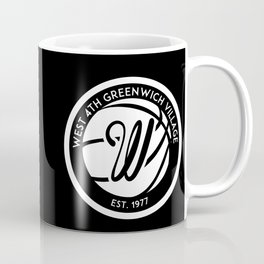 "West 4th ""The Cage"", Greenwich Village, New York City Basketball Coffee Mug"