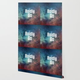 Boldly Go Wallpaper