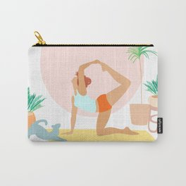 'Rise and Shine' Yoga Girl Power Carry-All Pouch