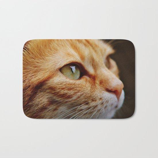 cat face 4 Bath Mat