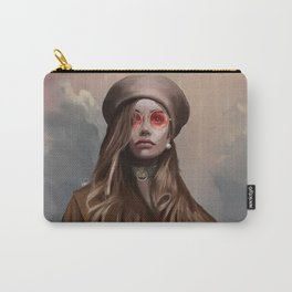 Fashion Girl Portrait Carry-All Pouch