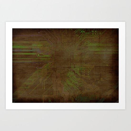 Electronic Art Print